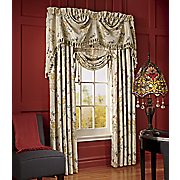Jewel Embroidered Window Treatments