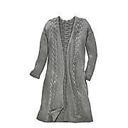 natasha cable knit oversized cardigan