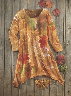 Maple Splash Tunic