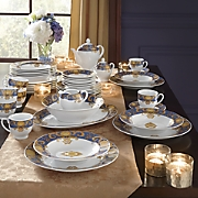 47-Piece Venetian Tapestry Dinnerware Set
