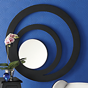 Concentric Circles Gallery Mirror