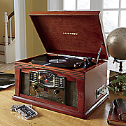 cr42 lancaster entertainment system by crosley