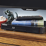 blu ray disc player by samsung