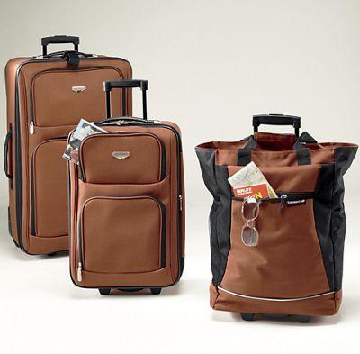 3-Piece Expandable Travel Luggage Set