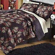 calaveras comforter set and shower curtain