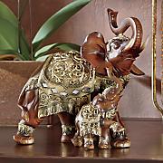 Surus Elephant Mom and Calf