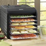 6 tray food dehydrator by aroma pro
