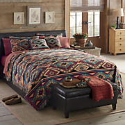 southwest ambler coverlet and sham