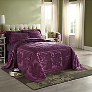 Mosaic Chenille Bespread and Sham