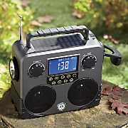 Bluetooth Survival Skybox with Weather Radio by Champ