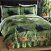 Peacock Park Comforter Set and Window Treatments