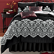 Milan Comforter Set, Decorative Pillow and Window Treatments