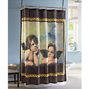 cherub shower curtain