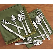 45-Piece Jubilee Stainless Steel Flatware