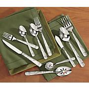 45 piece jubilee stainless steel flatware