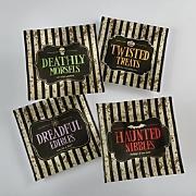 4-Piece Halloween Plates Set