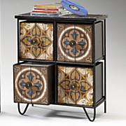 tribeca 4 drawer wooden case