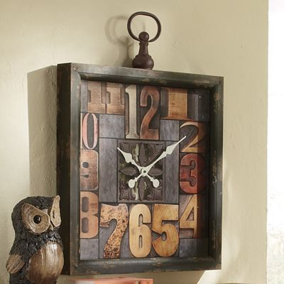 Color by Number Wall Clock