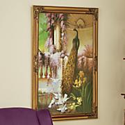 Caterina Peacock Framed Art