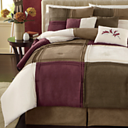 Alza 7-Piece Bed Set and Window Treatments