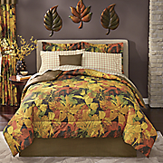 Ann Arbor Complete Bed Set, Decorative Pillow and Window Treatments