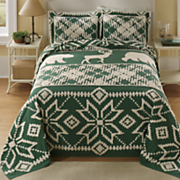 Lodge Chenille Bedspread and Sham