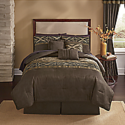 Aztek Sueded Microfiber 7-Piece Bed Set and Window Treatments