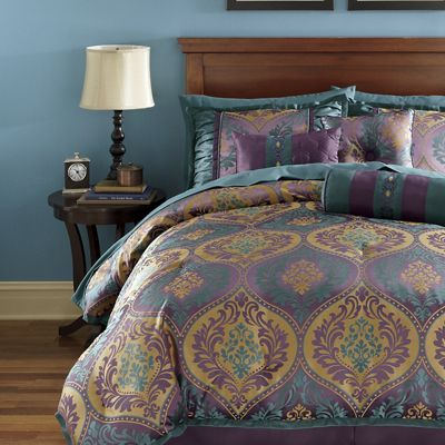 Pompeii 21 Piece Jacquard Bed Set From Montgomery Ward