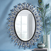 Bejewelled Wall Mirror