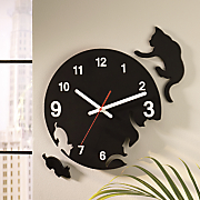Kitty Cat Chase Clock