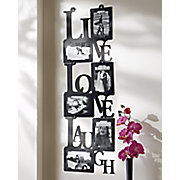 Live Love Laugh Vertical Photo Frame
