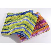 yoko tie dye blanket