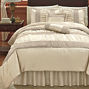 Indulgent Bedding, Decorative Pillows, Sham and Window Treatments