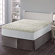 puff knit mattress pad