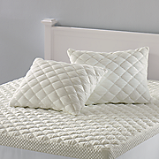 Comforpedic by Beautyrest Puff Knit Pillow Cover