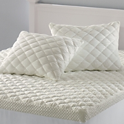 puff knit pillow cover