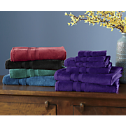 6 pc  soft caress towel set