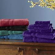 6 pc  soft caress towel set