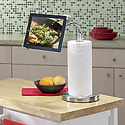 Gooseneck Stand/Paper Towel Holder