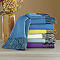 Zebra Flocked Sheet Set