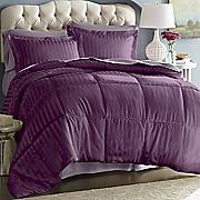 3-Piece Damask Stripe Down Alternative Comforter Set