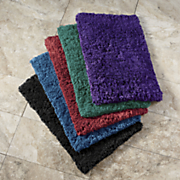 2 pc  soft caress bath mat set