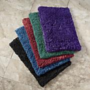 2 pc  soft caress bath mat set