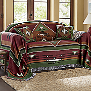 mesa verde woven tapestry furniture throw