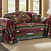 mesa verde tejido tapiz muebles tiro