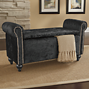 nailhead storage bench 236