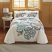 Gardenridge Chenille Bedspread and Sham