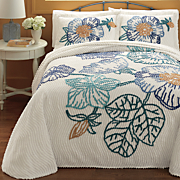 Gardenridge Chenille Bedspread and Sham