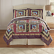 Colorado Cabin Quilt and Sham