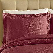 monterey embroidered sham